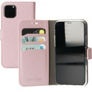"""Mobiparts Saffiano Wallet Case Apple iPhone 5.8"""" (2019) Pink"""