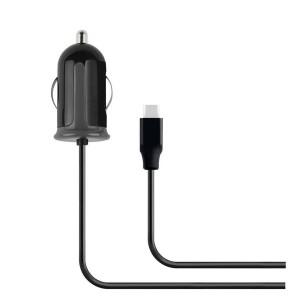 Mobiparts Car Charger USB-C 2.4A Black