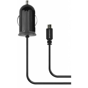 Mobiparts Car Charger Micro USB 2.1A Black