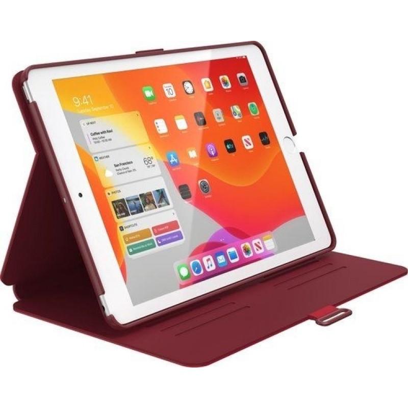 Speck Balance Folio Case Apple iPad 10.2 (2019) Dark Poppy Red